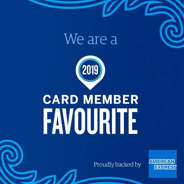 American Express 2019 Card Member Favourite badge